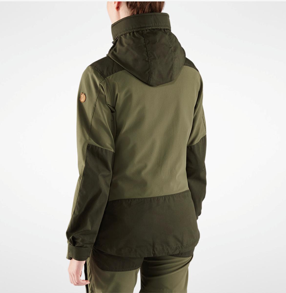 Fjällräven keb jacket w deepforest laurel green Nava Sport