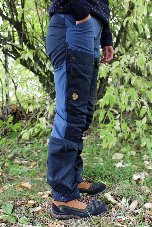 Fjällräven keb trousers curved w reg 555 520 dark navy uncle blue
