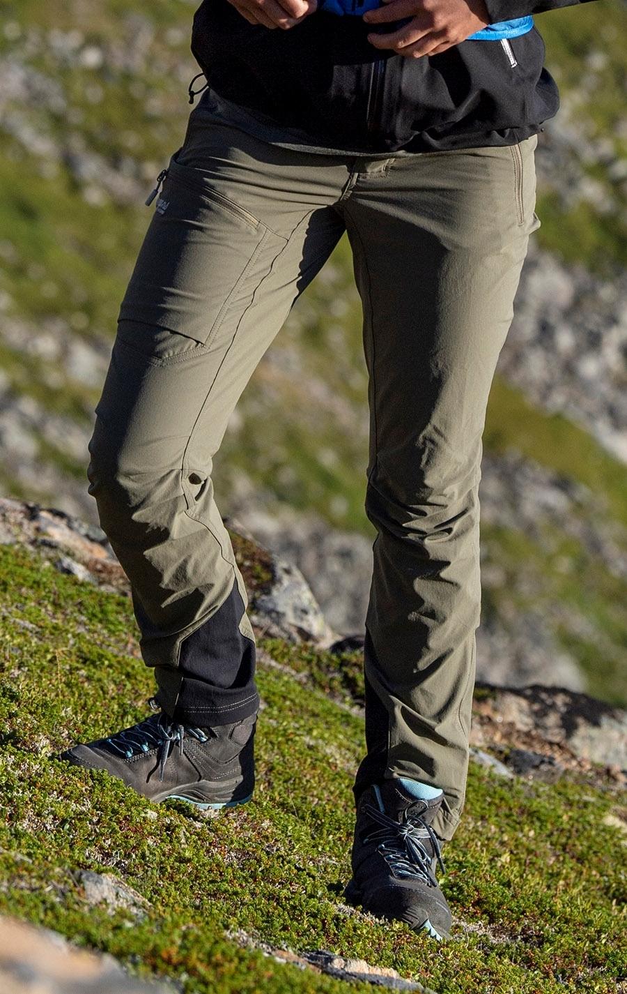Bergans breheimen softshell w pnt green mud