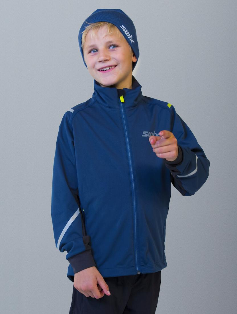 Bilde av Swix  Cross jacket Junior straight 76208 Majolica blue