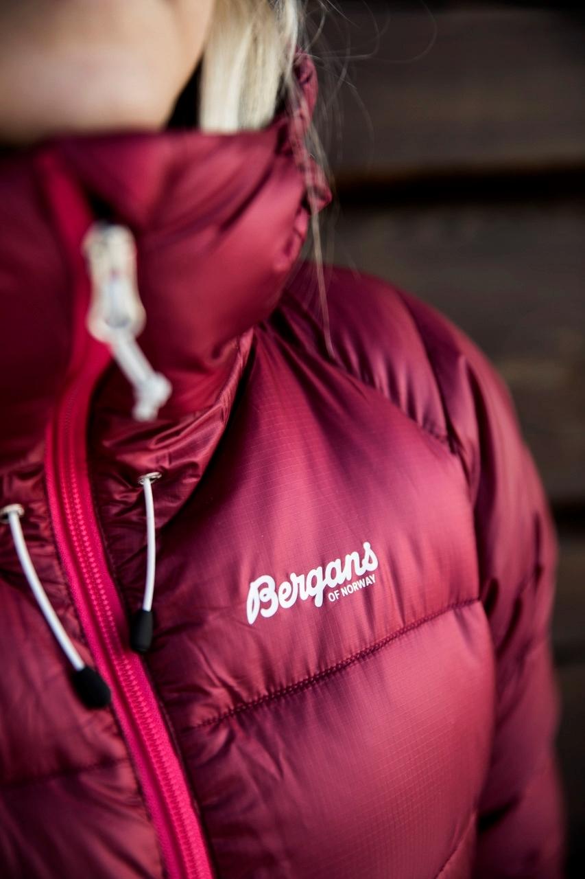 Bergans slingsby down w jkt beetredraspberry Nava Sport