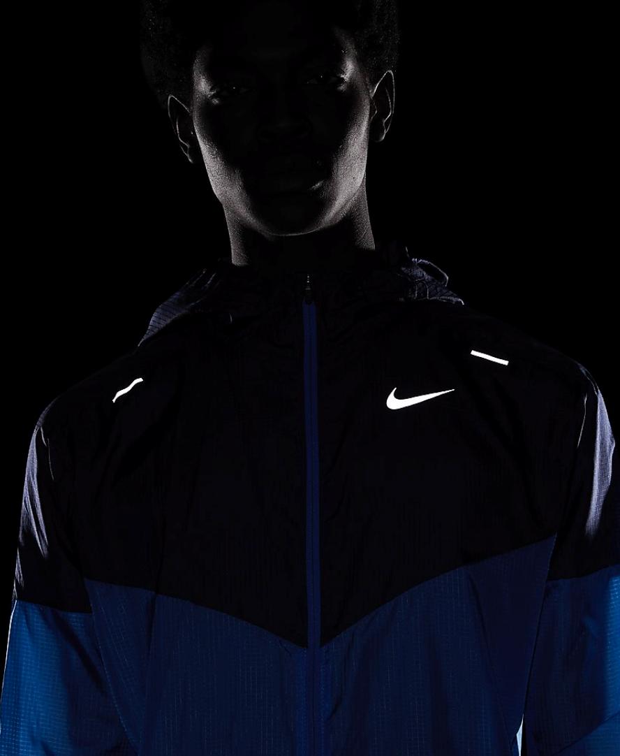 Bilde av Nike m nk windrunner jkt pacblu/refsil CK6341-402