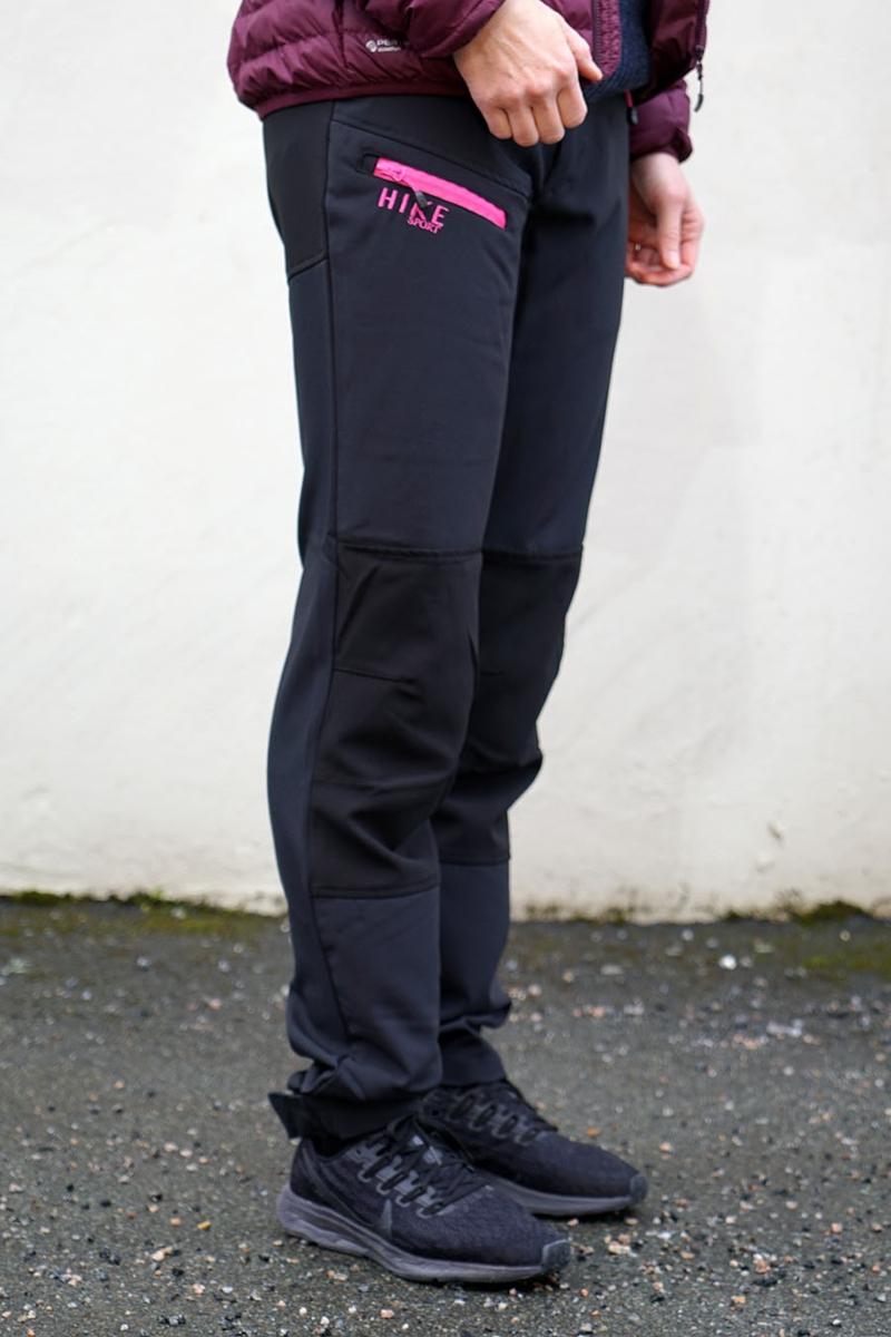 Bilde av Move-On Opdal bukse Dame Gray/Black