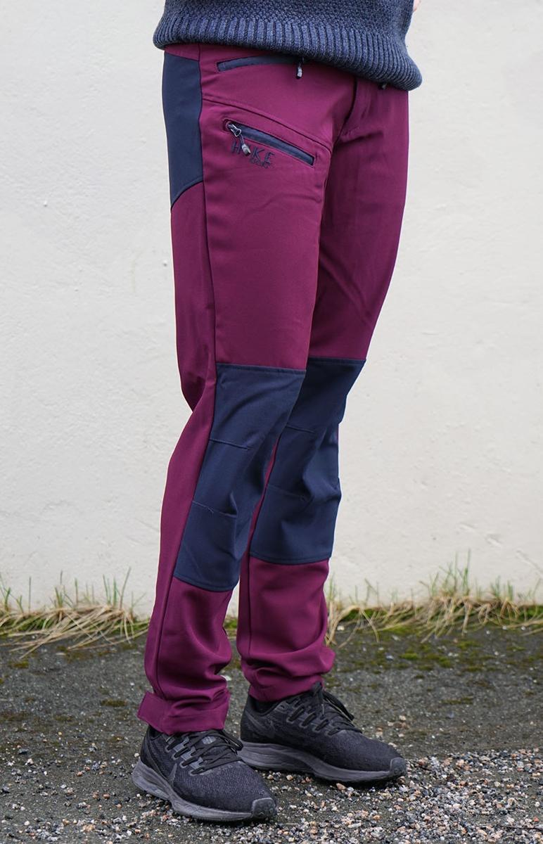 Bilde av Move-On Opdal bukse Dame Plum/Navy