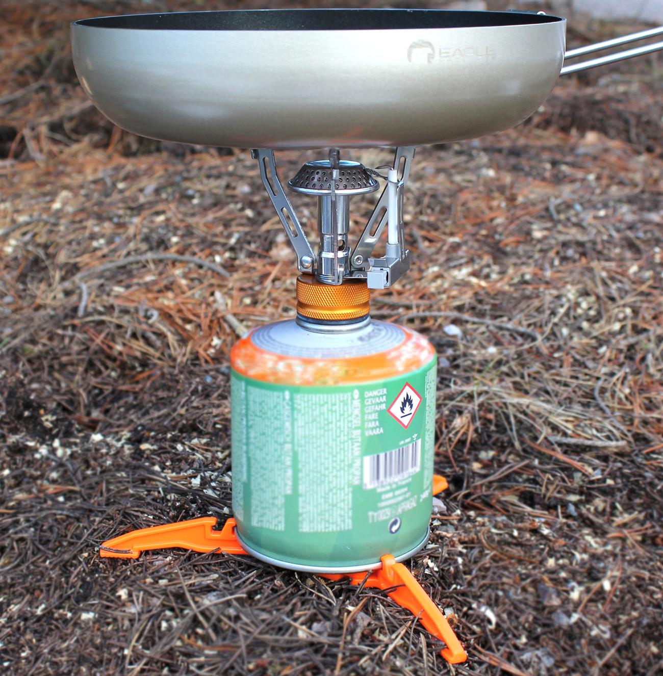Bilde av stativ for gasstank Orange