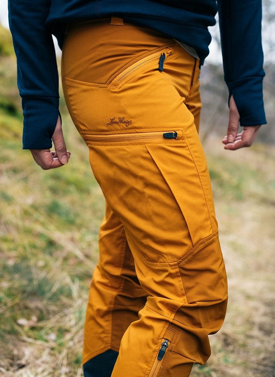 Bilde av Lundhags  Makke Ws Pant, Gold/ Dk Gold