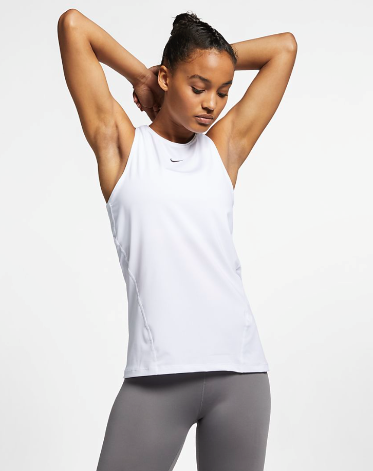 Bilde av Nike W np tank top all over mesh AO9966-100