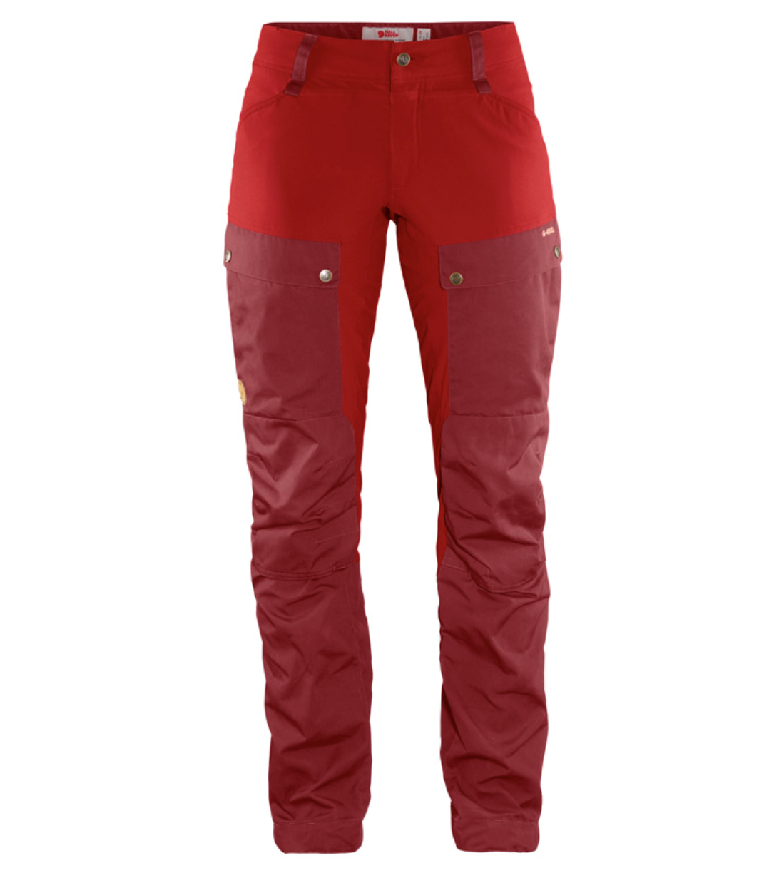 Fjällräven keb trousers curved w 326 335 ox red lava