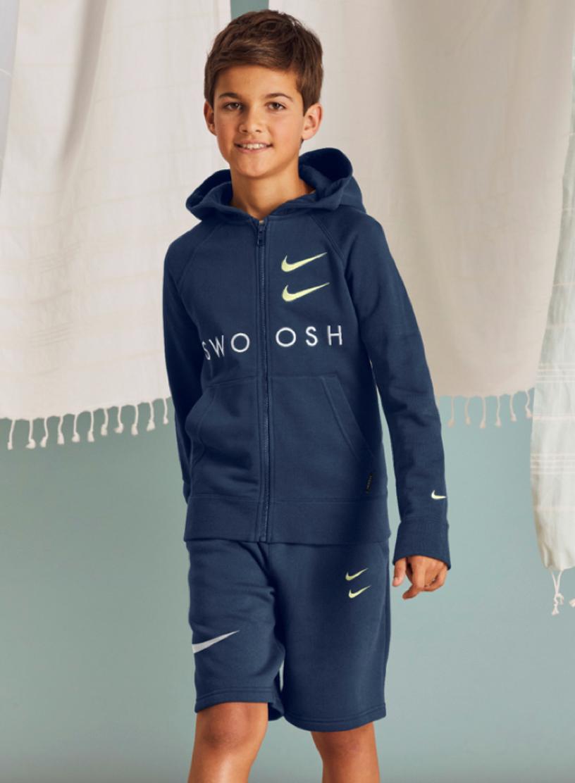Bilde av Nike jr b swoosh hooded CT9452-499