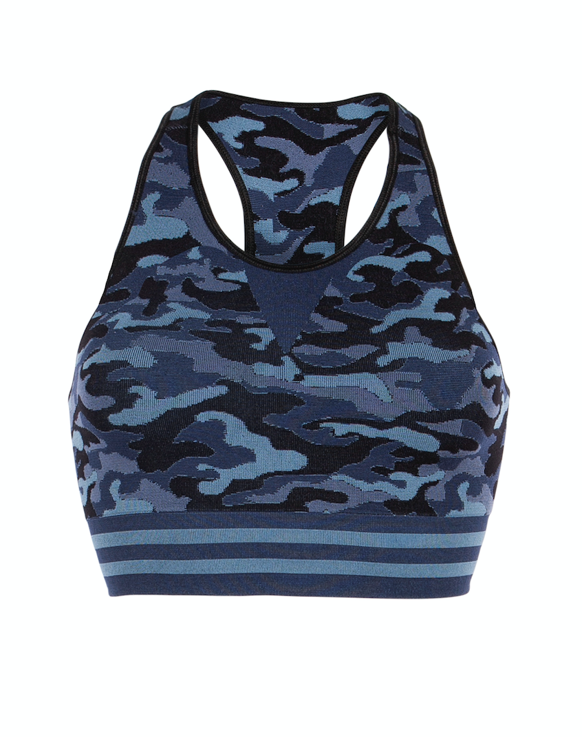 Bilde av Camo bra black and blues SS20-1-50-53