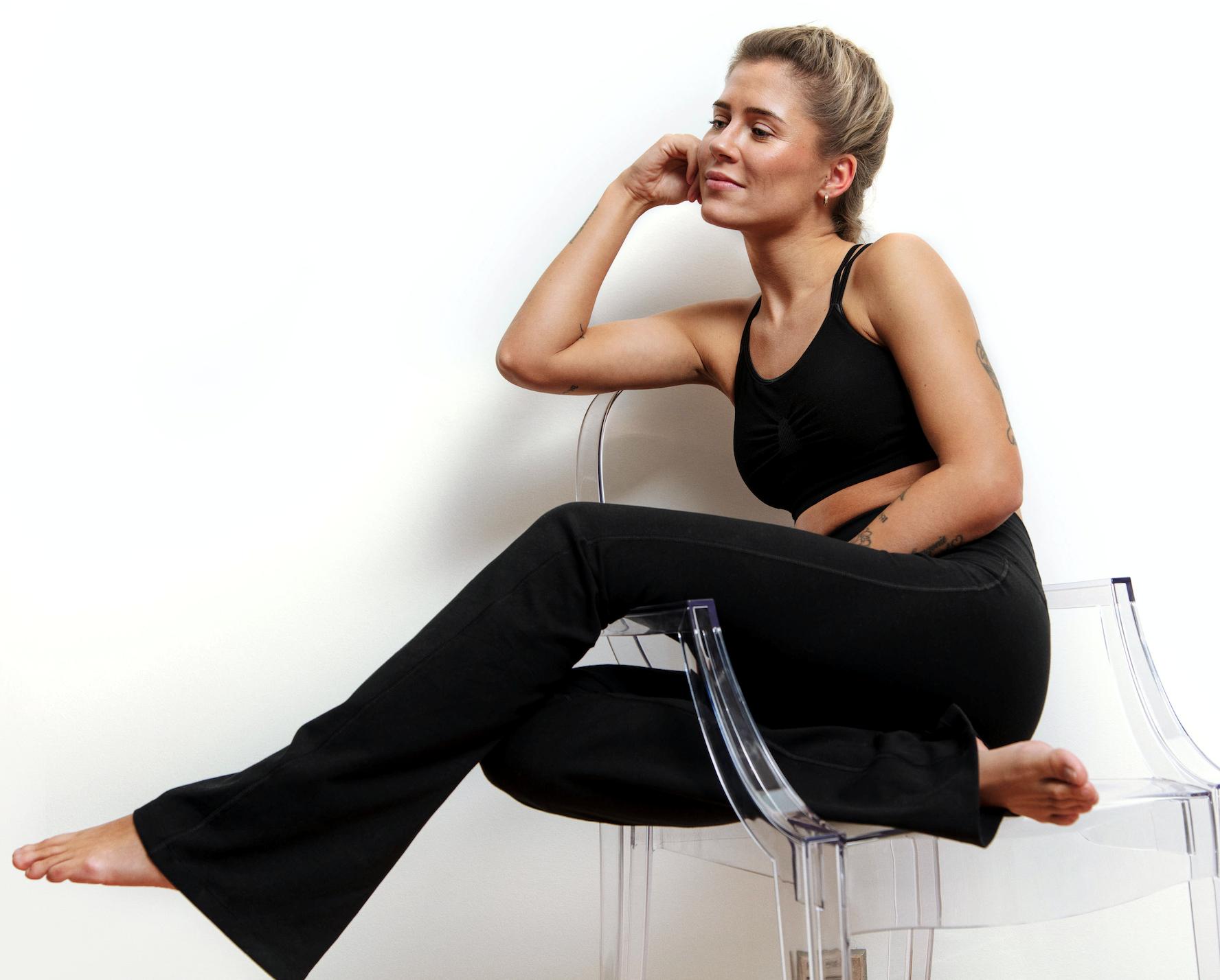 Bilde av Yoga pant beautiful black SS20-1-30-37