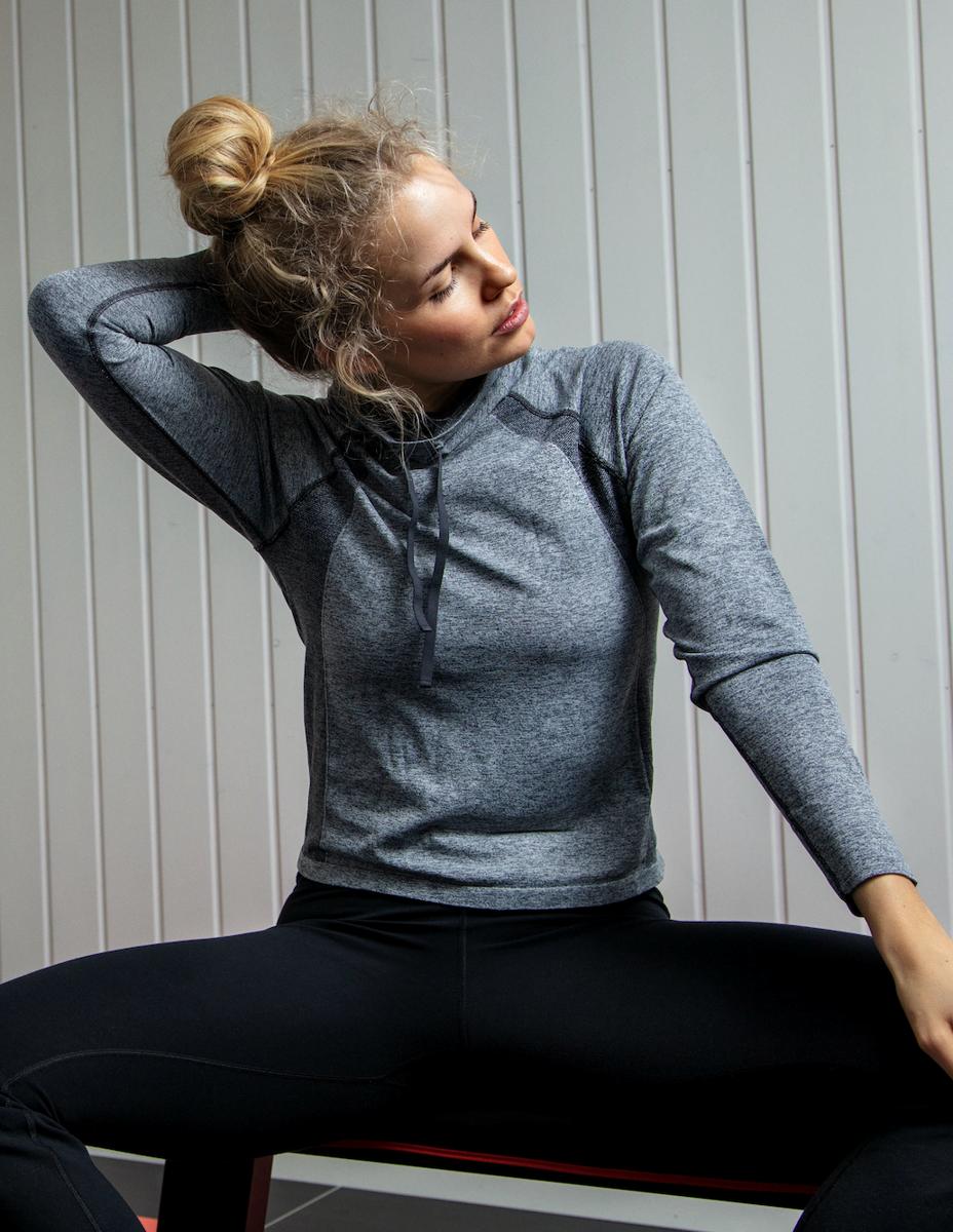 Bilde av Run sweater grey melange SS20-1-20-23