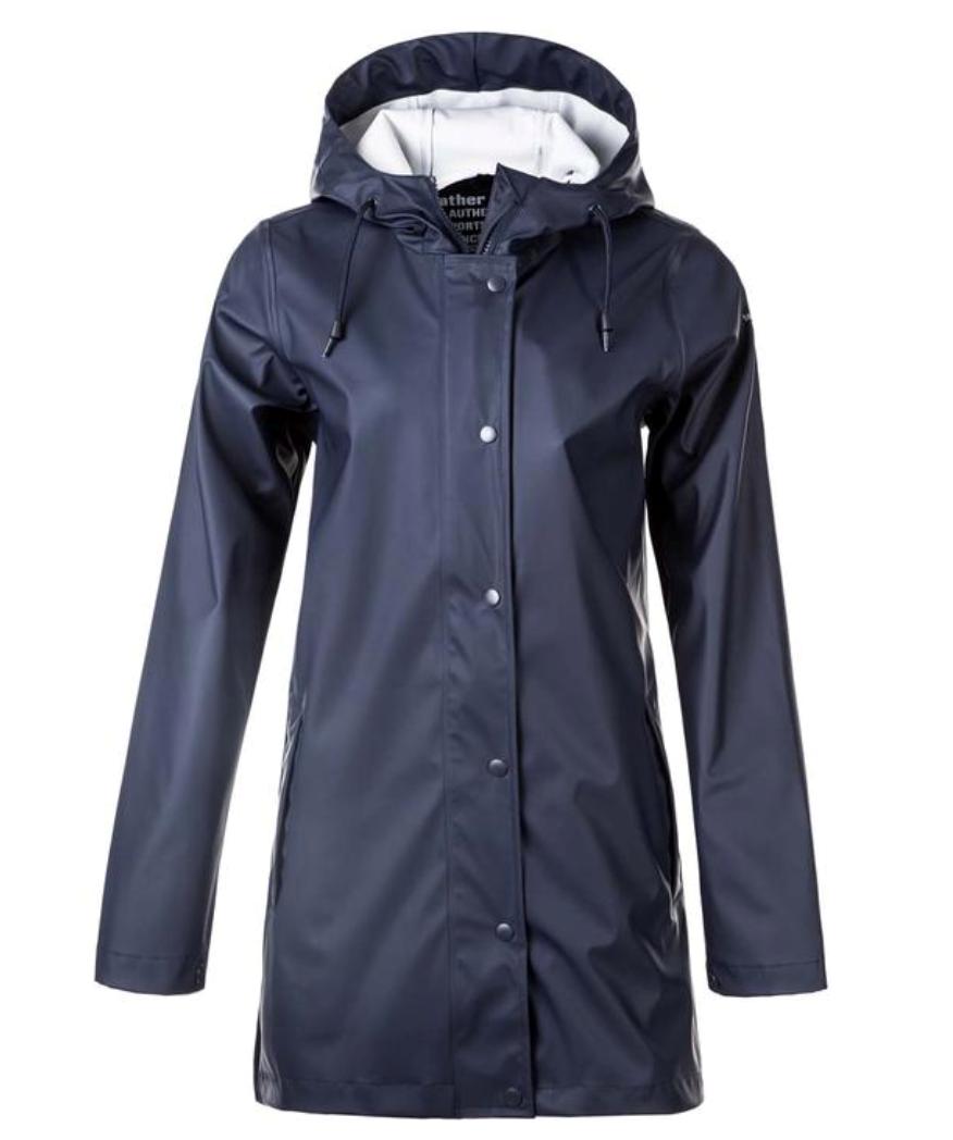 Bilde av Petra W Rain jacket 100 Navy