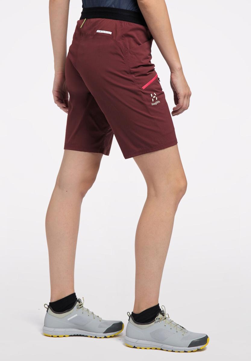 Bilde av Haglöfs  L.I.M Fuse Shorts Women 48L Maroon Red