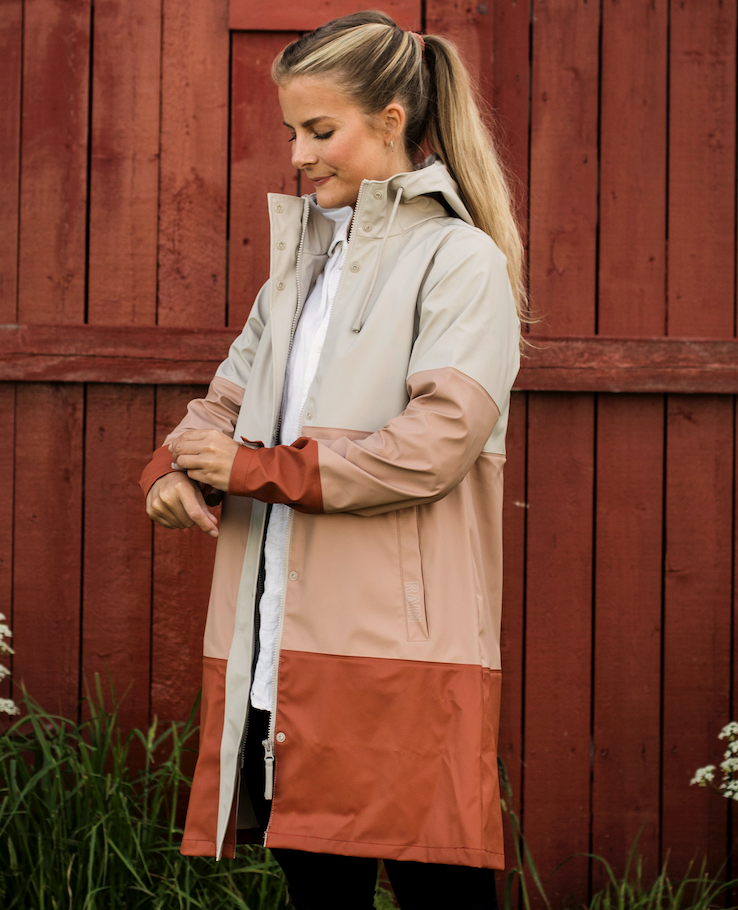 Bilde av Agneta Rain Jacket ChateauGray 1060 Chateau Grey