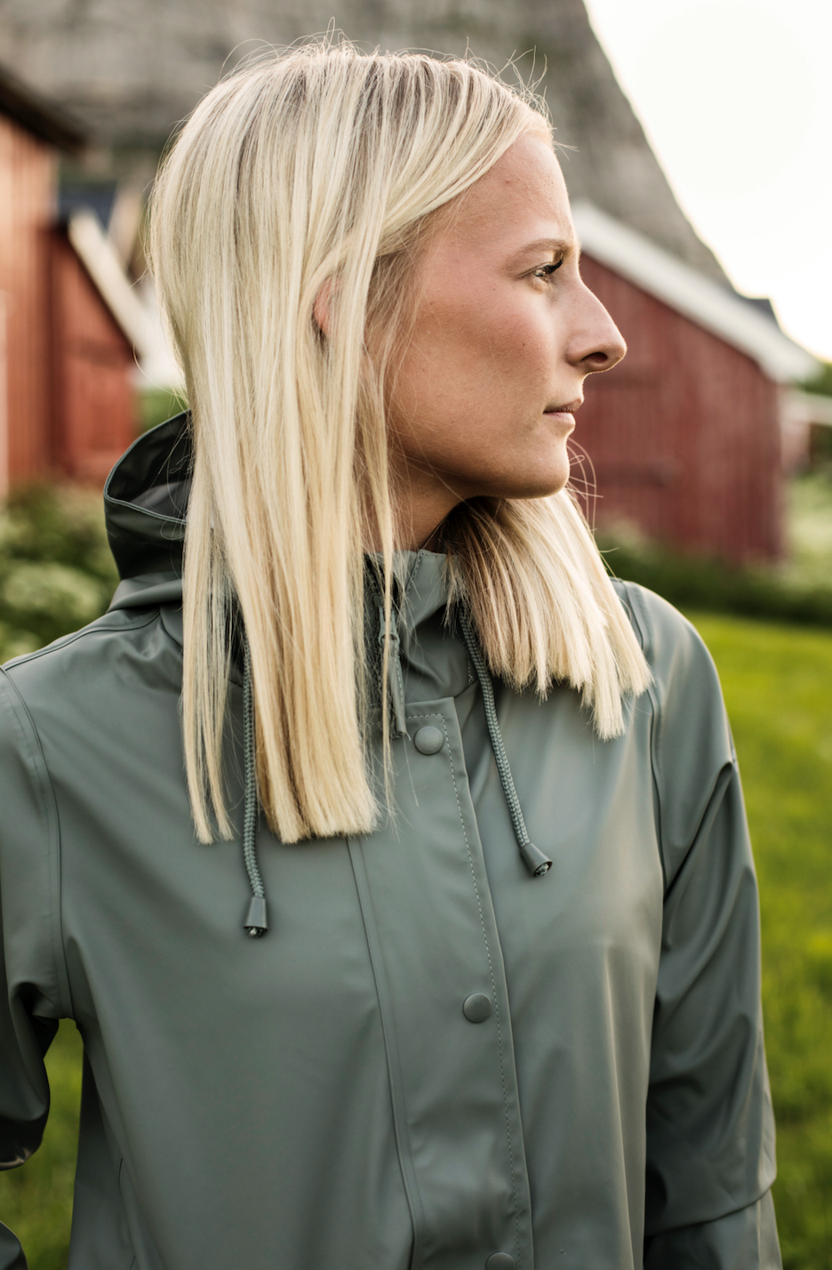 Weather Report Petra Rain jacket Agave Green | GetInspired