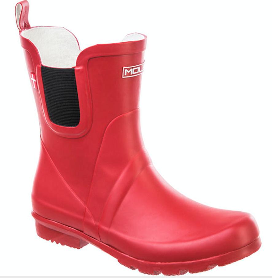 Bilde av Mols Suburbs W rubber boots 4092 Haute Red