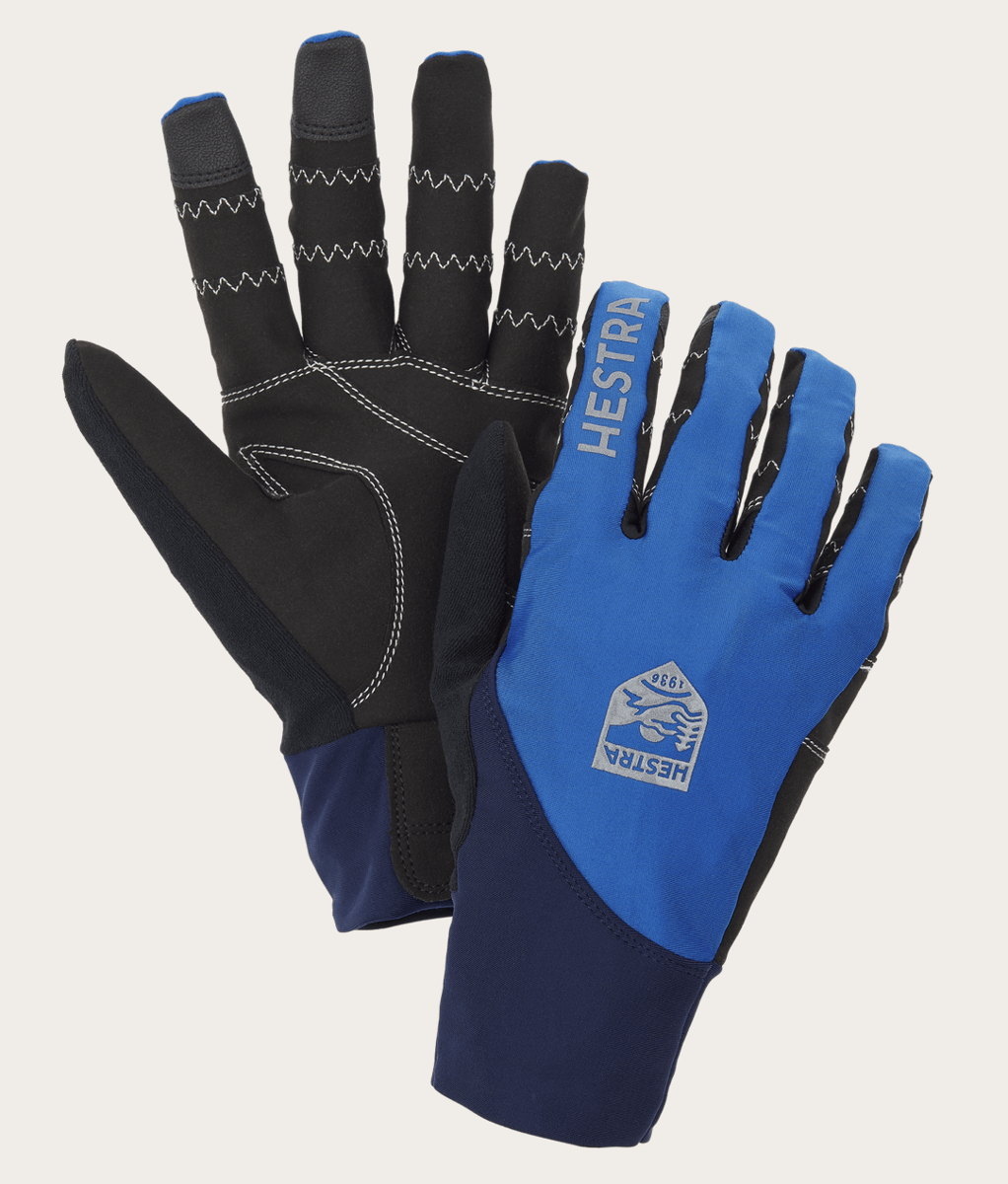 Bilde av Hestra  Bike Ergo Grip Race Cut - 5 finger Royal/Marin