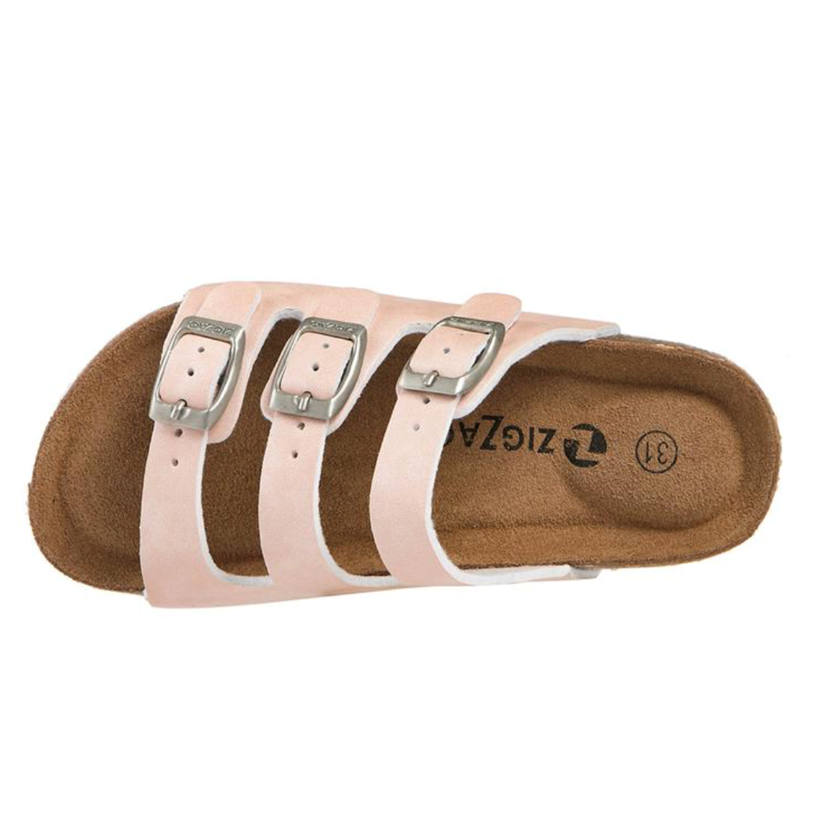 Bilde av Zigzag Linburg kids cork sandal 1049 Rose Smoke