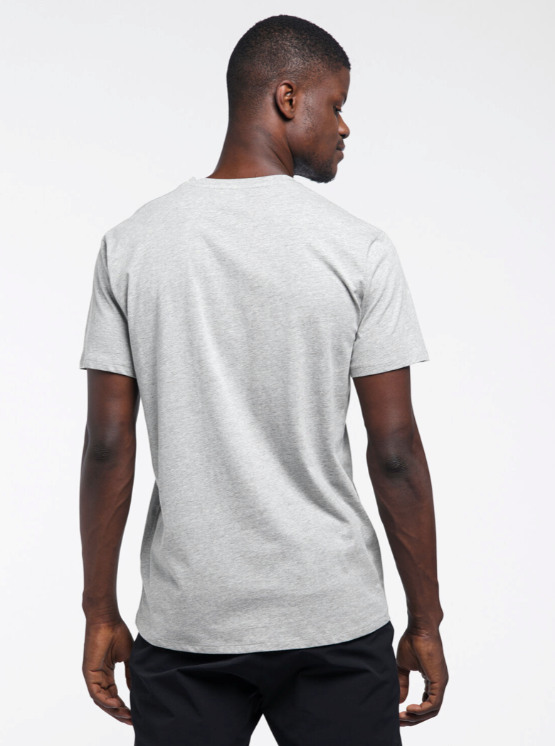 Bilde av Haglöfs  Camp Tee Men 4KA Grey Melange/True Black