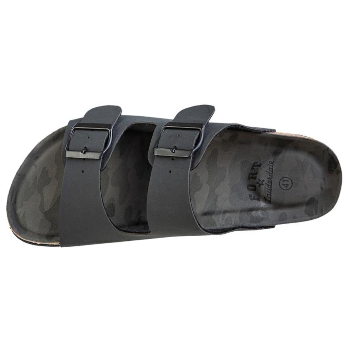 Bilde av Fort Lauderdale Bao M Cork Sandal 1001 Black