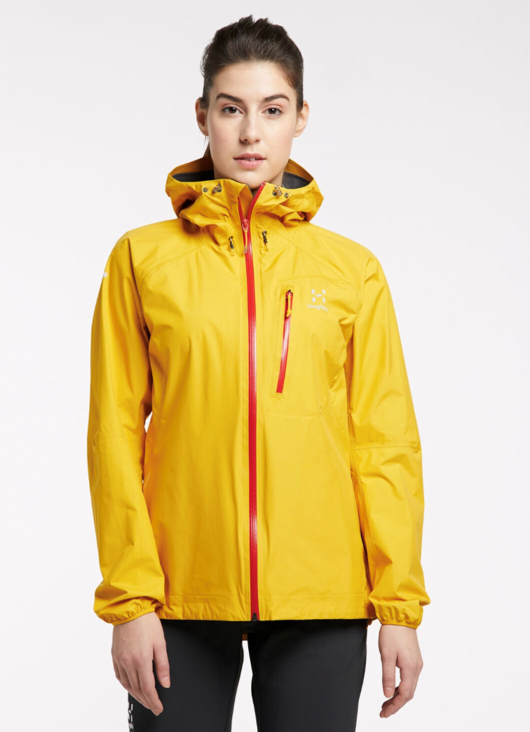 Bilde av Haglöfs  L.I.M Jacket Women 4L4 Pumpkin Yellow