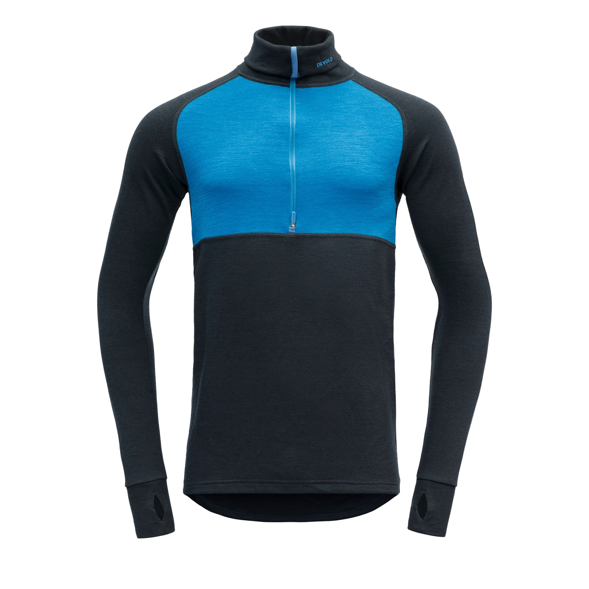 Bilde av Devold  EXPEDITION MAN ZIP NECK 291A Skydiver/Ink