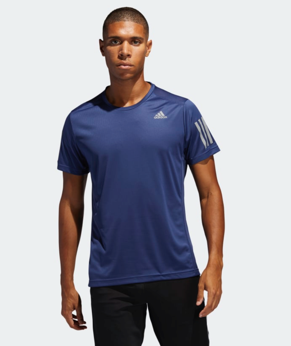 Bilde av Adidas  OWN THE RUN TEE blue FL6945