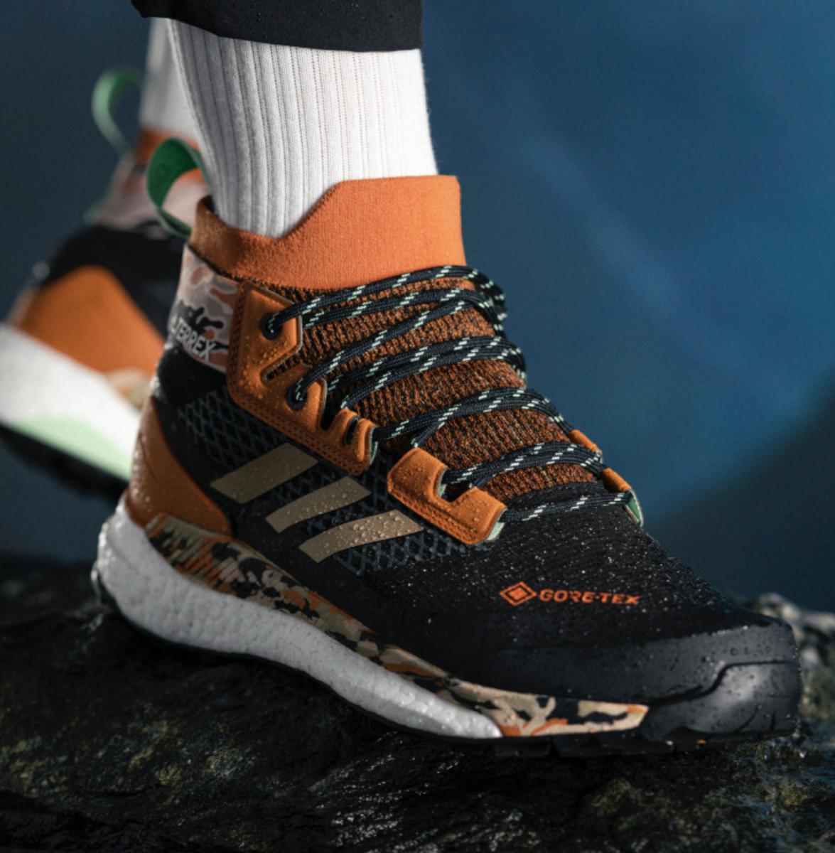 Bilde av Adidas Terrex Free Hiker G Cblack/Hemp/Glomin FV6791
