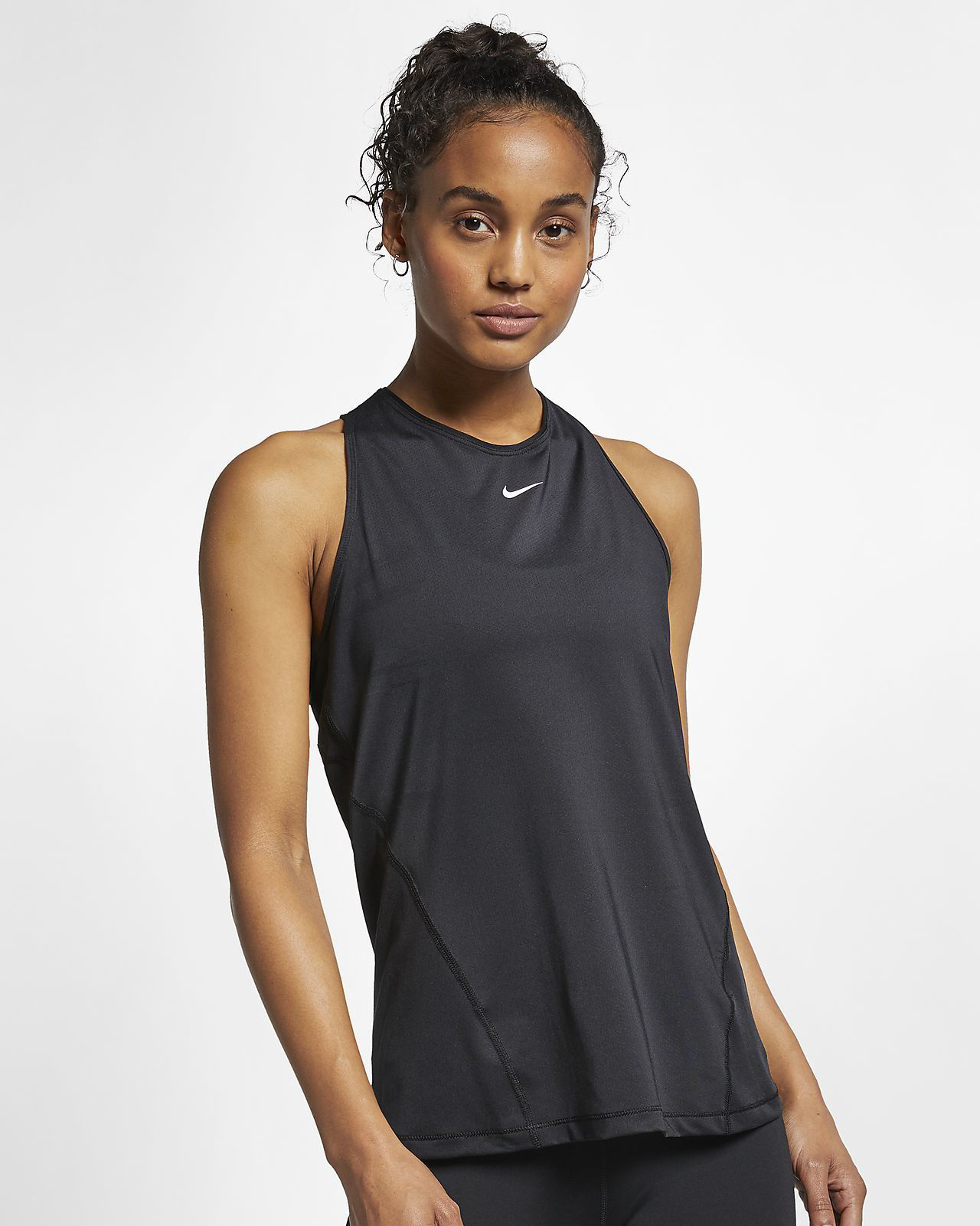 Bilde av Nike  W NP TANK ALL OVER MESH AO9966-010