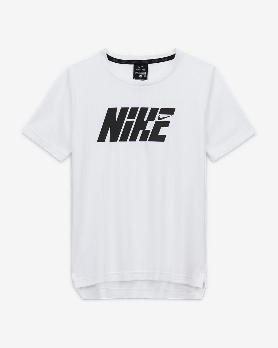 Bilde av B NIKE JUNIOR ss top CU9115-100