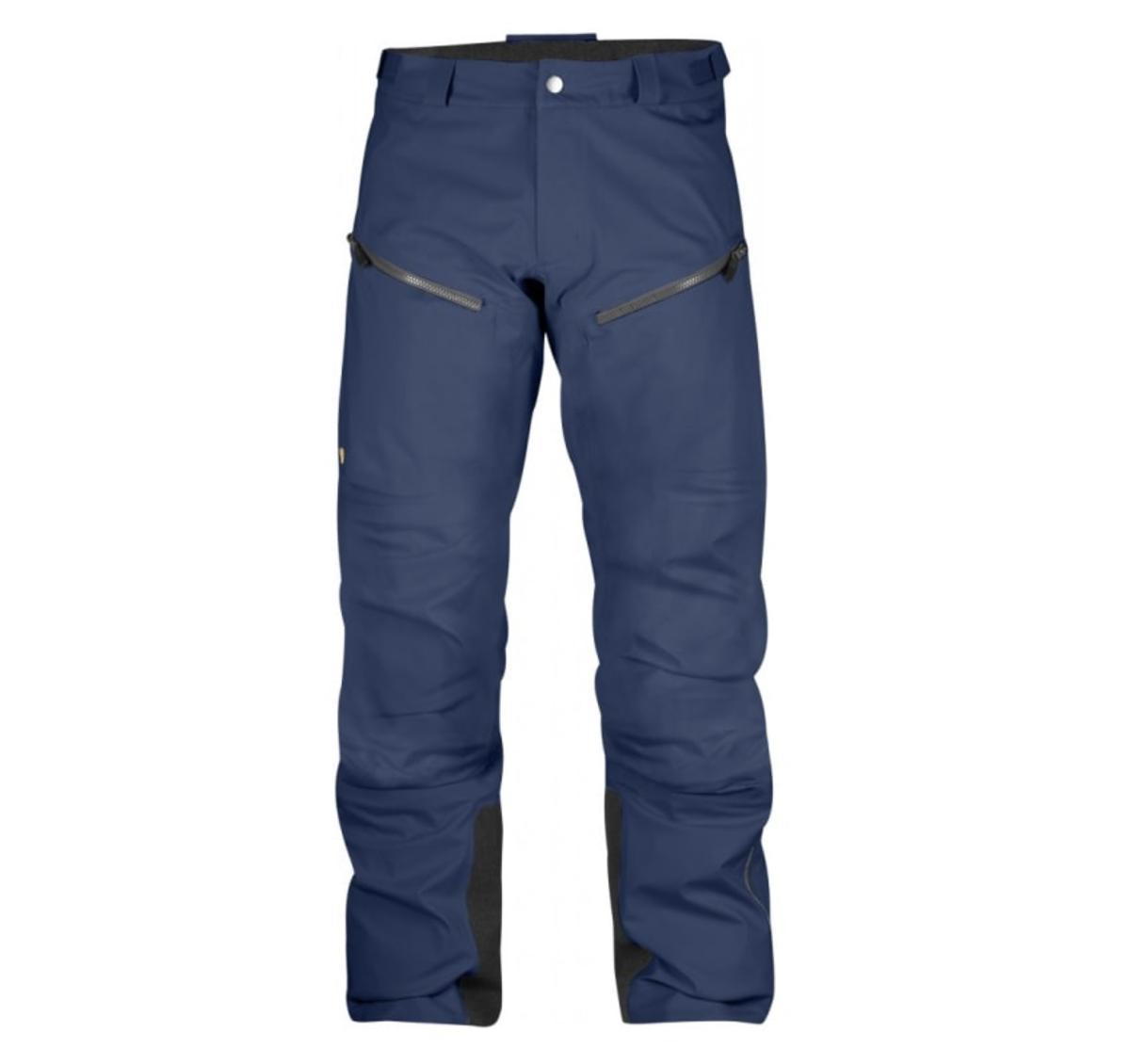 Bilde av Fjällräven  Bergtagen Eco-Shell Trousers M 570 Mountain Blue