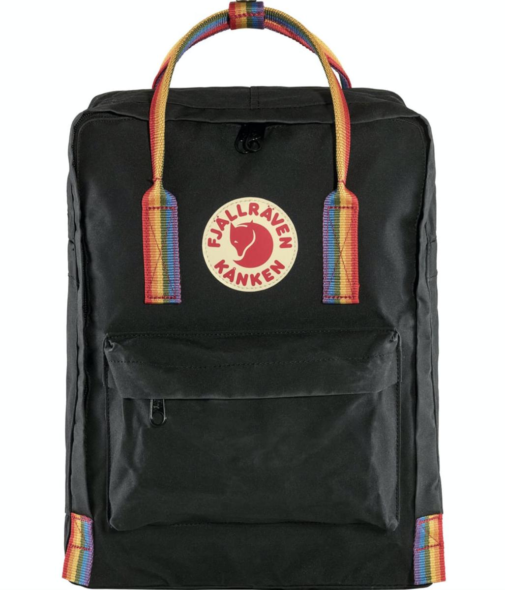 Bilde av Fjällräven  Kånken Rainbow 550-907 Black-Rainbow Pattern