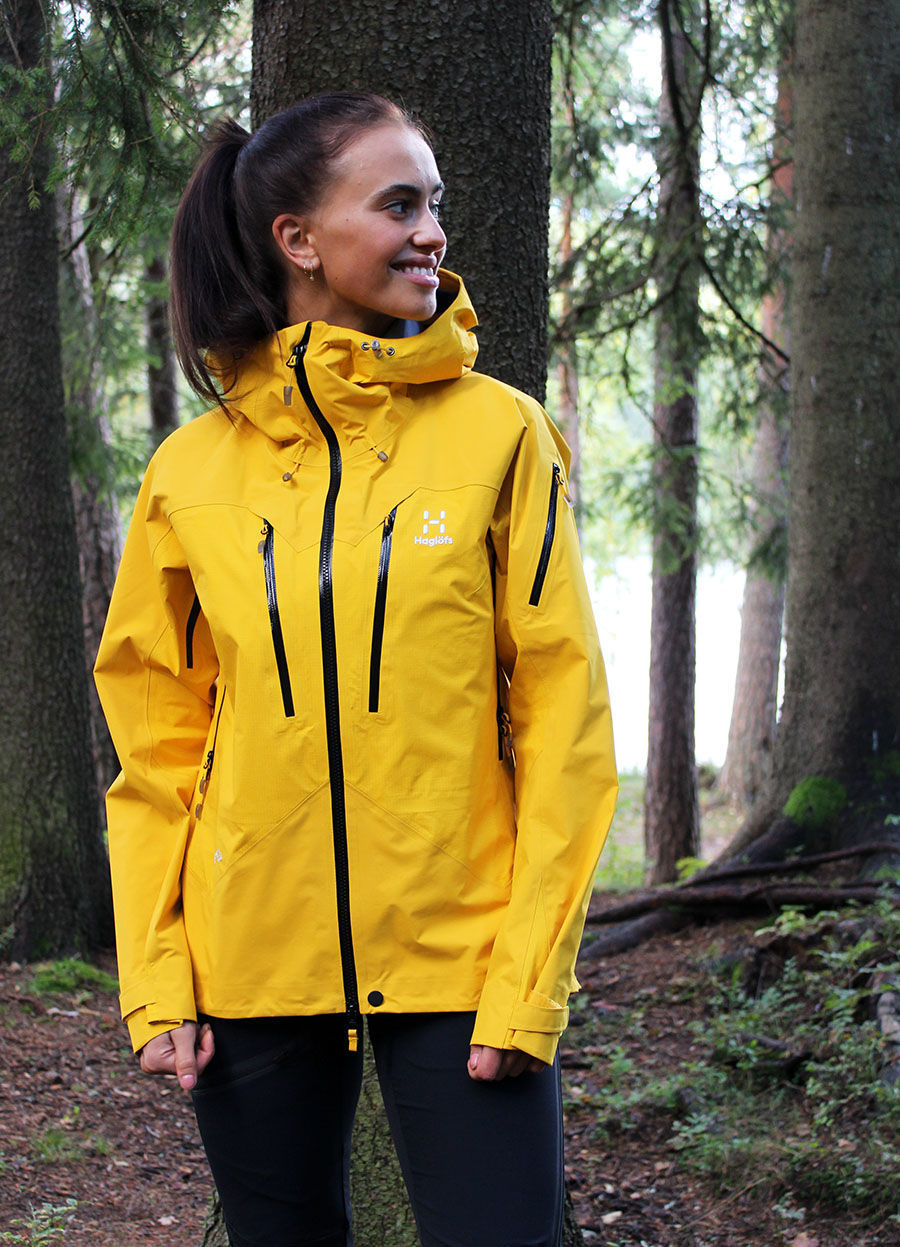 Bilde av Haglöfs  Spitz Jacket Women 4L4 Pumpkin Yellow