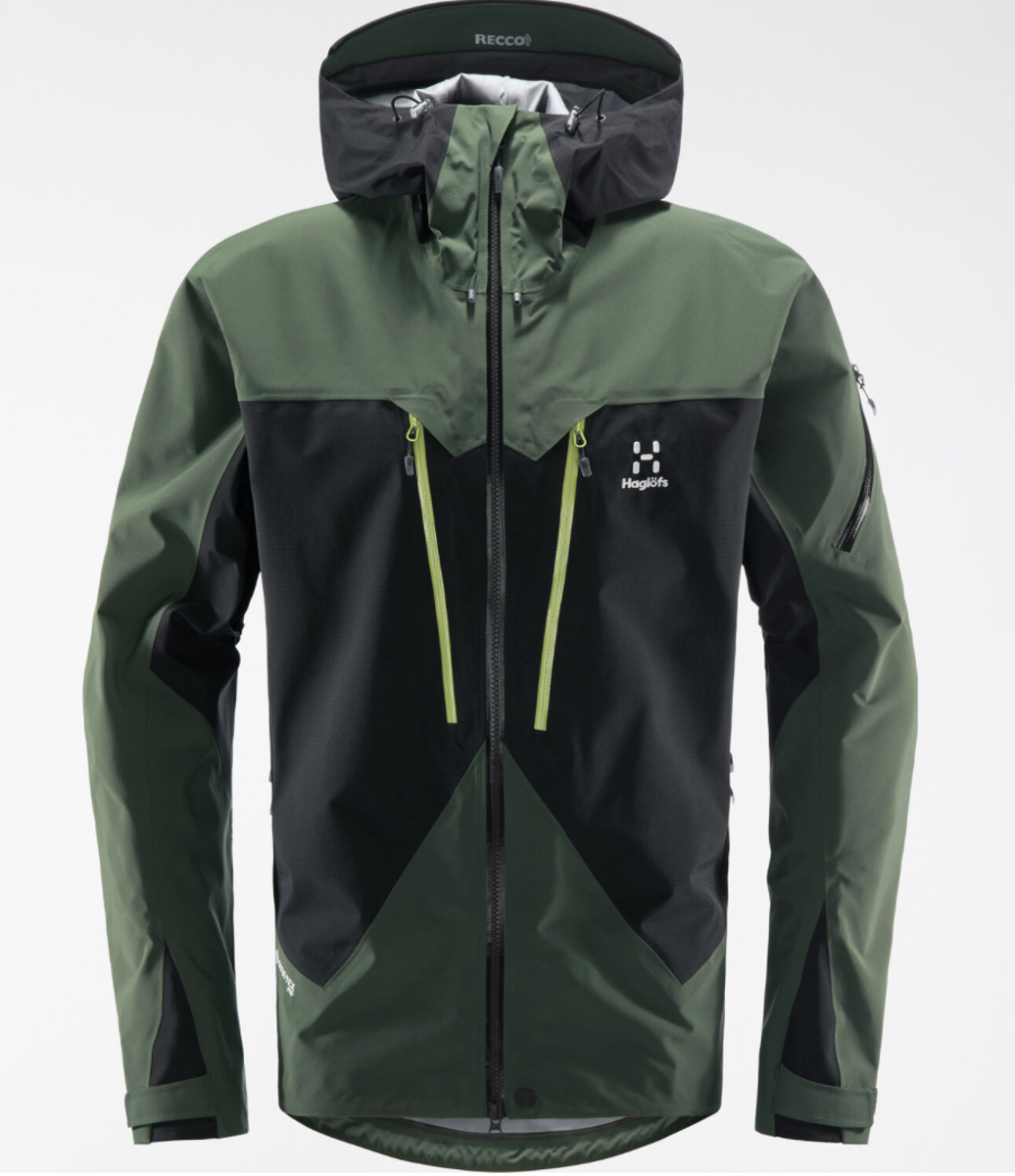 Bilde av Haglöfs  Spitz Jacket Men 4JA True Black/Fjell Green