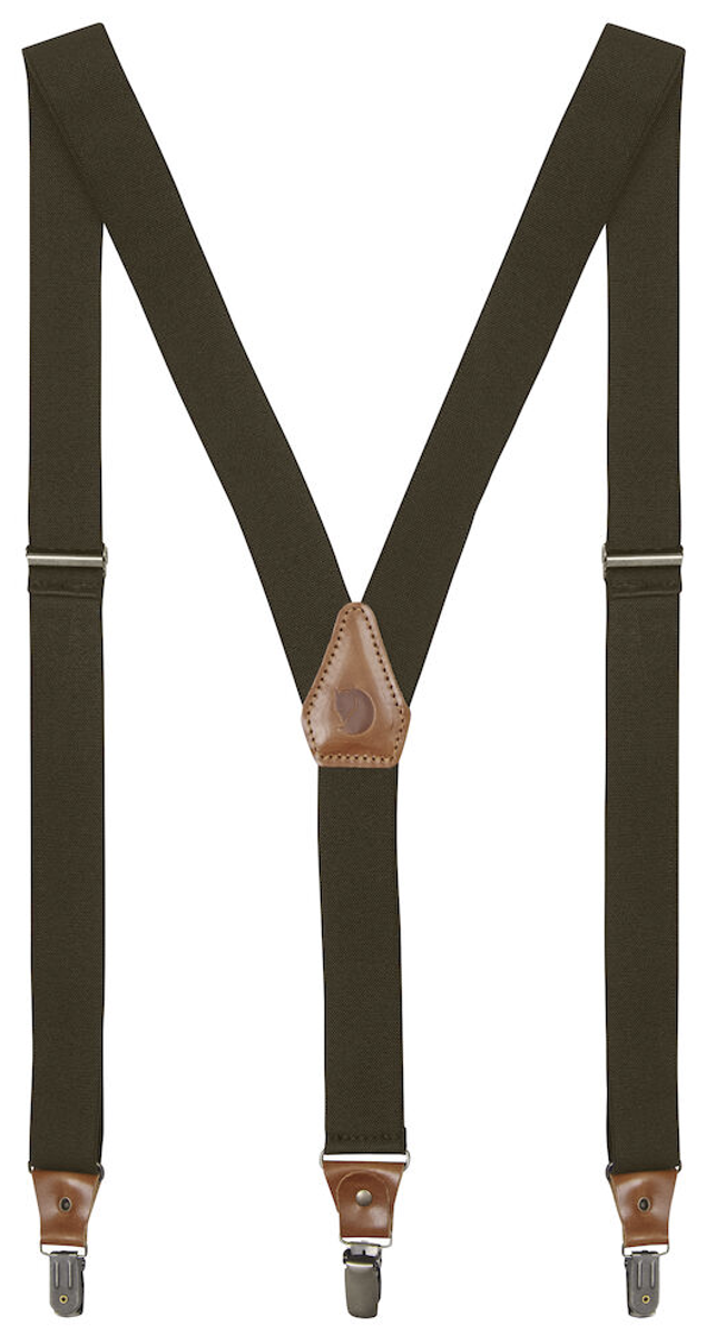 Bilde av Fjällräven  Singi Clip Suspenders 633 Dark Olive