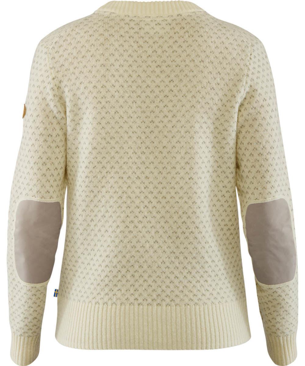 Bilde av Fjällräven  Övik Nordic Sweater W 113 Chalk White