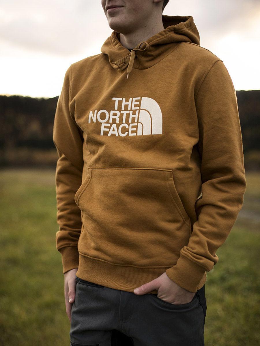 Bilde av The North Face  M DREW PEAK PLV HD Timber Tan/Vintage White