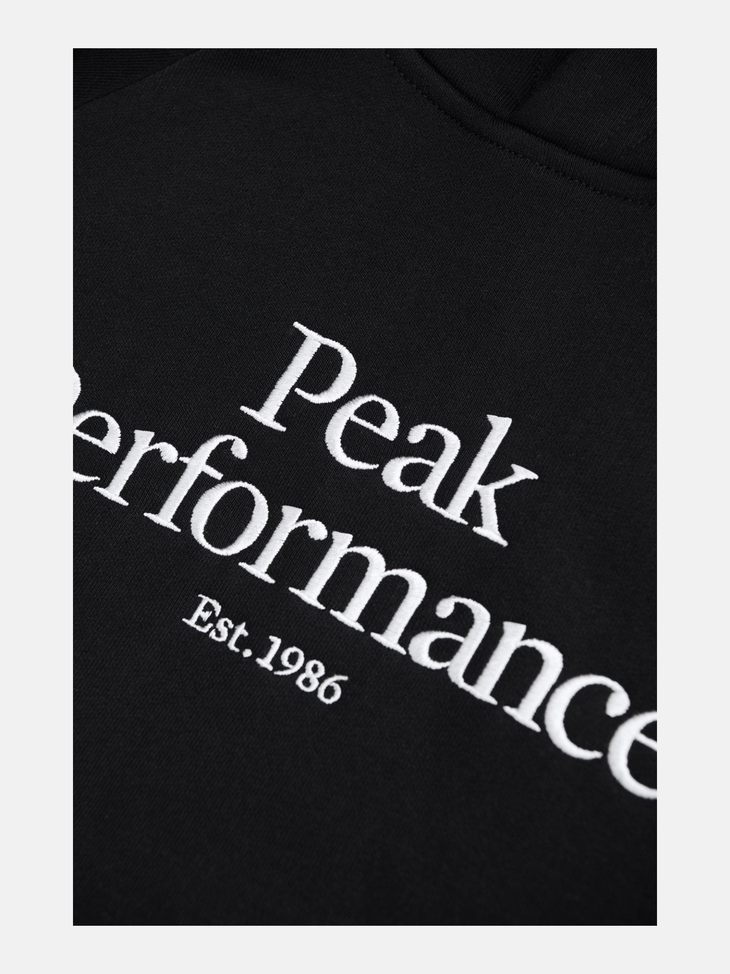 Bilde av Peak Performance  M Orig H 050 Black