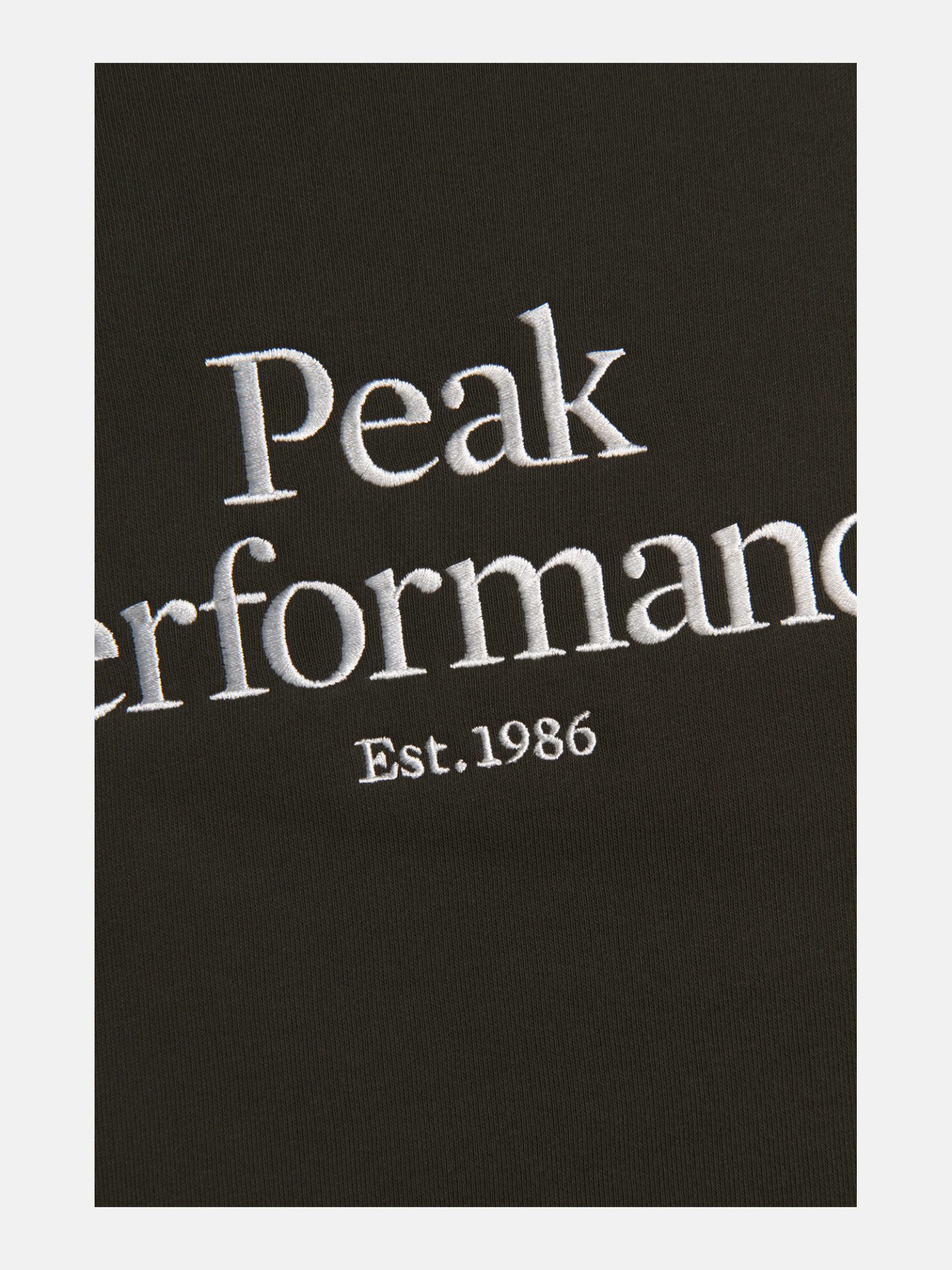 Bilde av Peak Performance  M Original Crew 4EP Coniferous Green