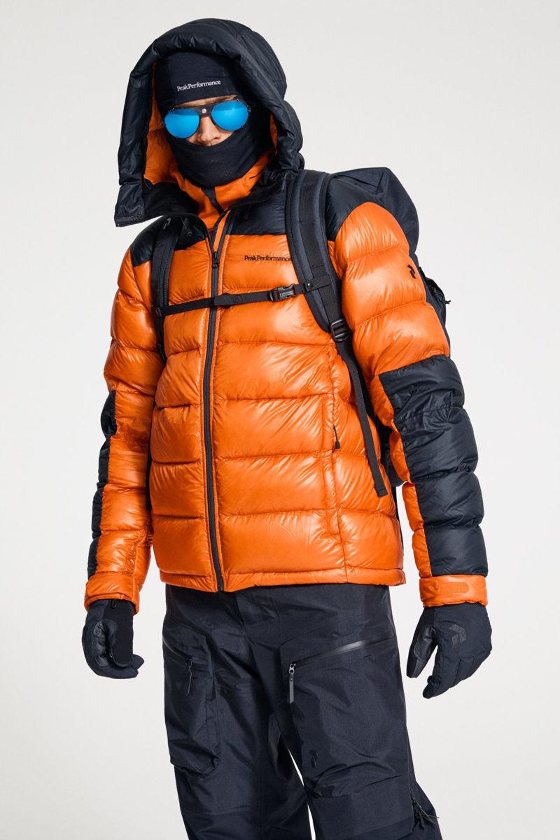 Bilde av Peak Performance  M Frost Glacier Hood Jacket 86X Orange Altitude