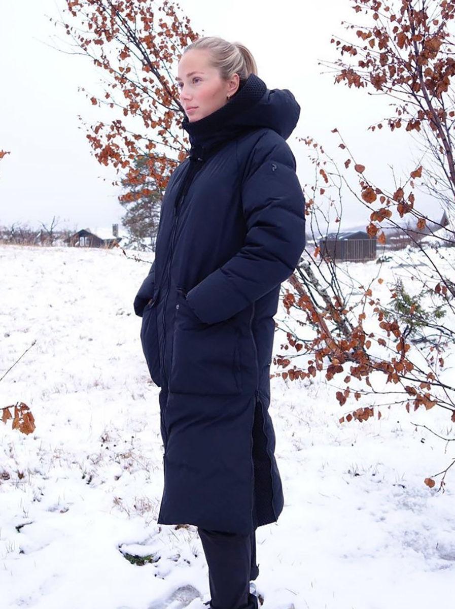 Bilde av Peak Performance  W Stella Coat 050 Black