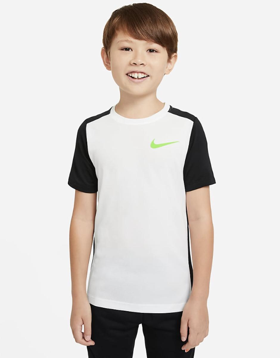 Bilde av Nike  B NK INSTACOOL JR SS TOP CU9150-100