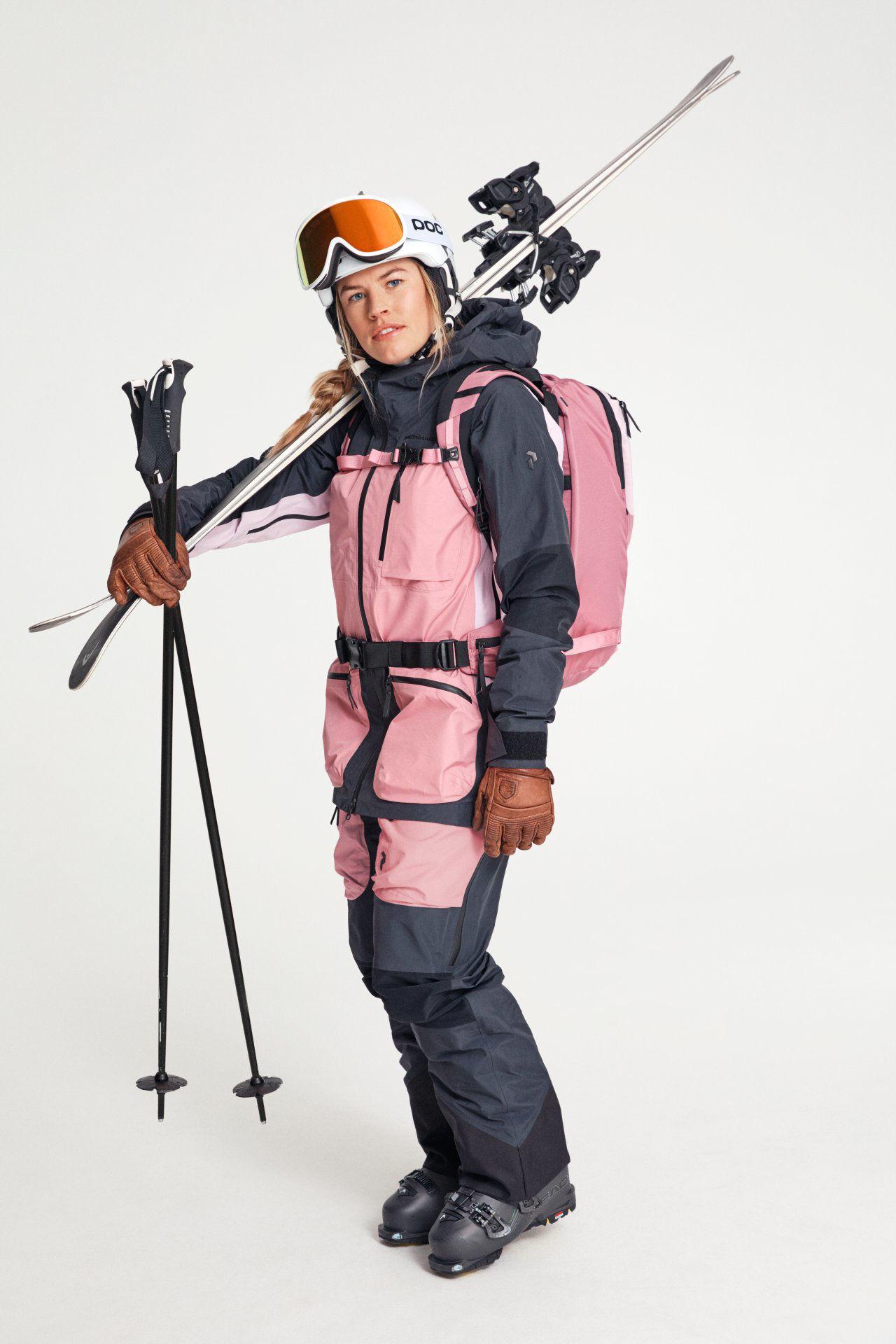 Bilde av Peak Performance  W Vertical PRO Jacket 06P Iron Cast