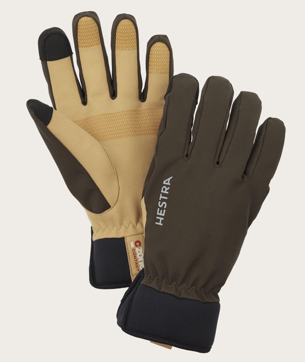 Bilde av Hestra  CZone Contact Glove -5 finger 861 Dark forest