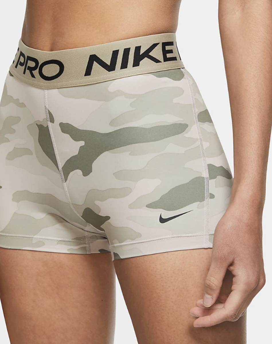 Bilde av Nike W short 3in camo CU4636-292