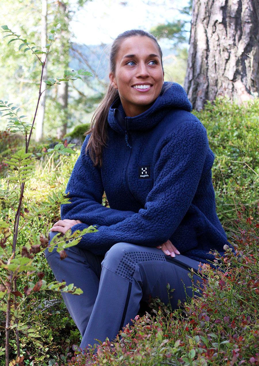 Bilde av Haglöfs  Pile Hood Women Tarn blue, NY
