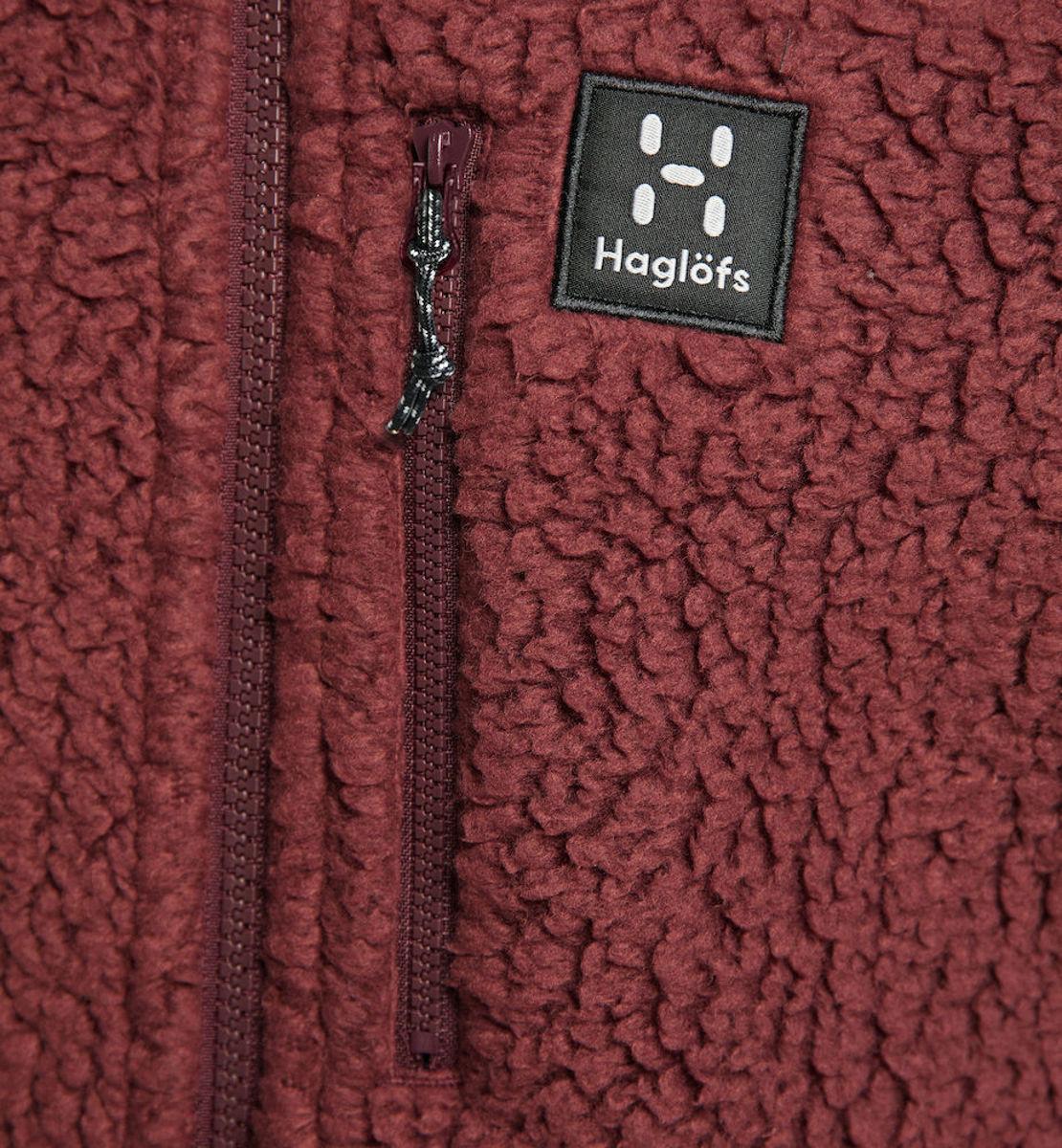 Bilde av Haglöfs  Pile Hood Man Maroon Red, NY