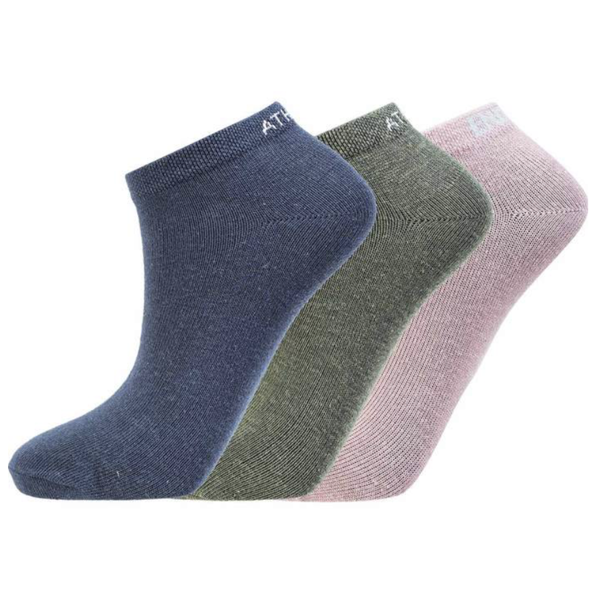 Bilde av Athlecia Bonie Low Cut Sock 3-pack -Dark Sapphire 2101 EA193772