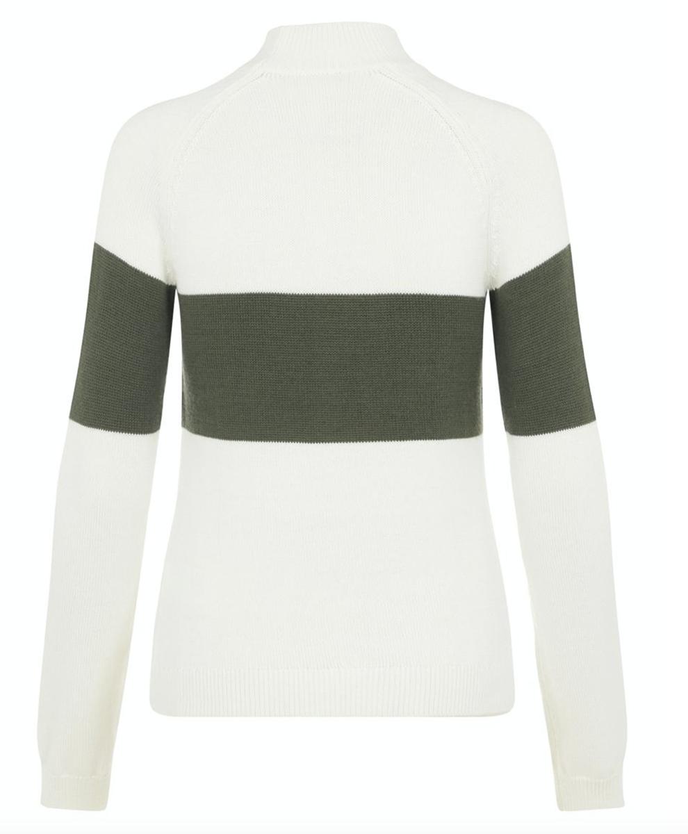 Bilde av J.Lindeberg Alva knitted ski sweater SWKW03089 M435 thyme green